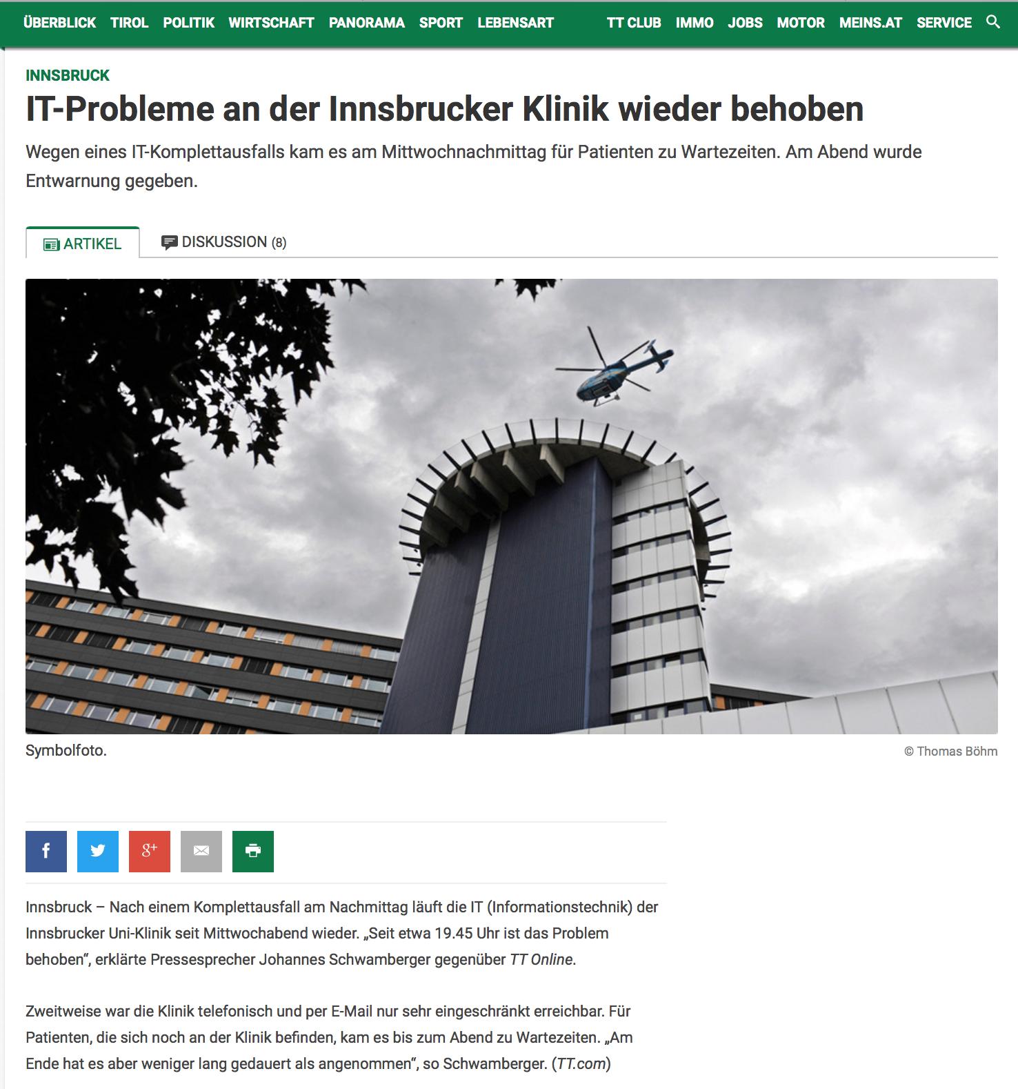 Jedes Tiroler Unternehmen kann betroffen sein